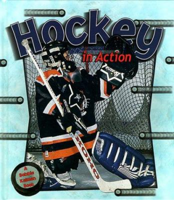 Cover image for Hockey in action
