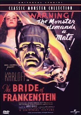 Cover image for The bride of Frankenstein