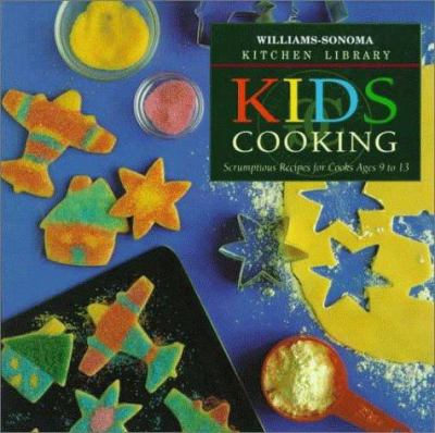 Cover image for Kids cooking : scrumptious recipes for cooks ages 9 to 13