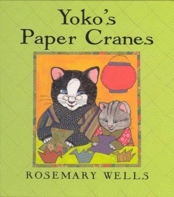 Cover image for Yoko's paper cranes