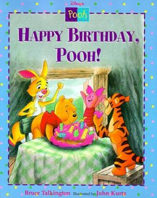 Cover image for Disney's Happy birthday, Pooh!