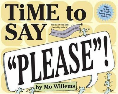 Cover image for Time to say please!