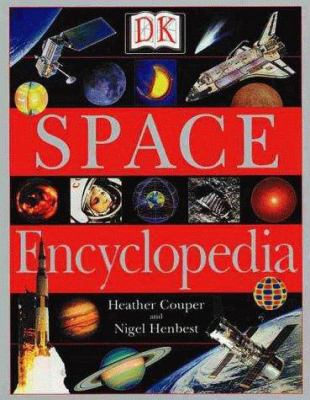 Cover image for DK space encyclopedia