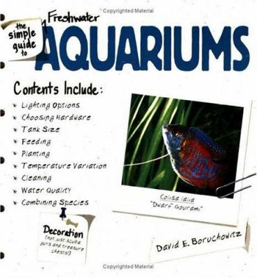 Cover image for The simple guide to freshwater aquariums