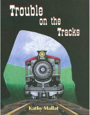 Cover image for Trouble on the tracks