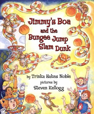 Cover image for Jimmy's boa and the bungee jump slam dunk