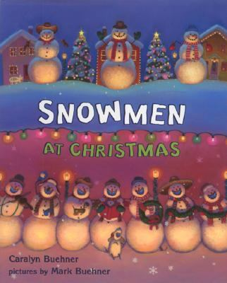 Cover image for Snowmen at Christmas