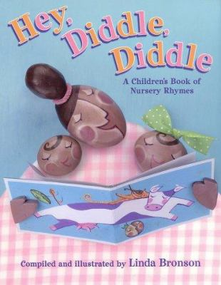 Cover image for Hey, diddle, diddle : a children's book of nursery rhymes
