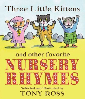 Cover image for Three little kittens and other favorite nursery rhymes