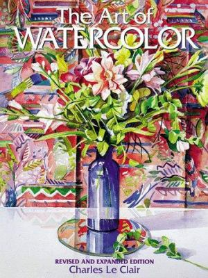 Cover image for The art of watercolor