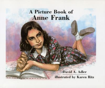 Cover image for A picture book of Anne Frank