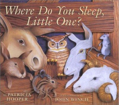 Cover image for Where do you sleep, little one?