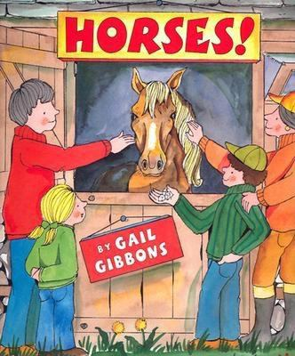 Cover image for Horses!