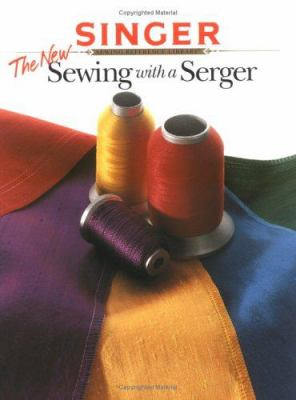 Cover image for The New sewing with a serger.