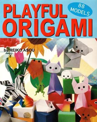 Cover image for Playful origami