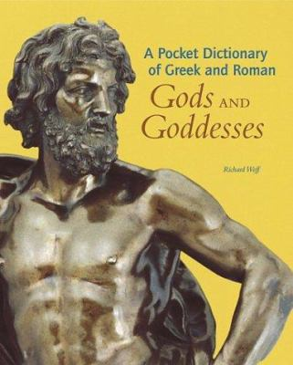 Cover image for A pocket dictionary of Greek and Roman gods and goddesses