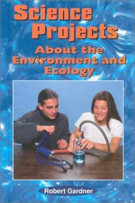 Cover image for Science projects about the environment and ecology