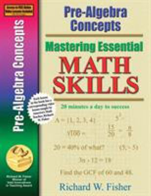 Cover image for Pre-algebra concepts