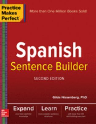 Cover image for Spanish sentence builder