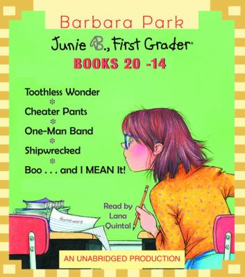 Cover image for Junie B. Jones collection. Books 21-24
