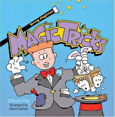 Cover image for Young magician : magic tricks