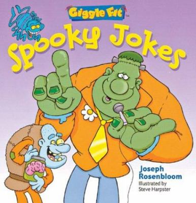 Cover image for Spooky jokes