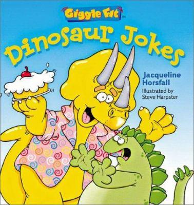 Cover image for Dinosaur jokes