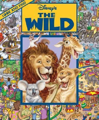 Cover image for Look and find Disney's the wild