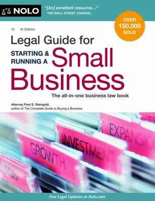 Cover image for Legal guide for starting & running a small business
