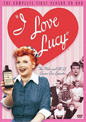 Cover image for I love Lucy. The complete first season