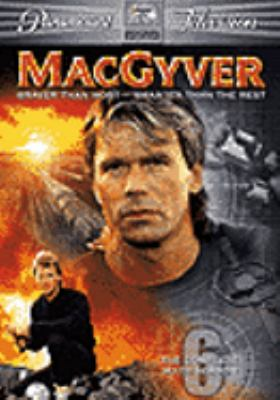 Cover image for MacGyver. The complete sixth season