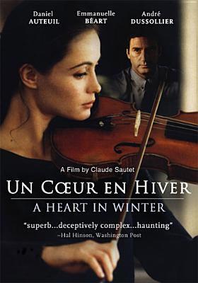Cover image for A heart in winter Un cœur en hiver