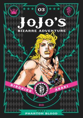 Cover image for Jojo's bizarre adventure. Part I, Phantom blood, 03