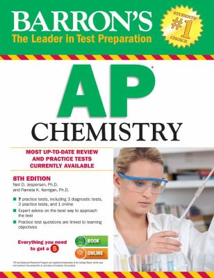 Cover image for Barron's AP chemistry