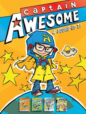 Cover image for Captain awesome : 4-books in-1!