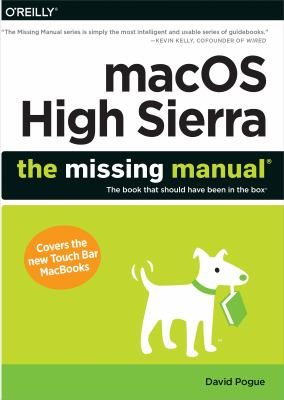 Cover image for MacOS High Sierra : the missing manual
