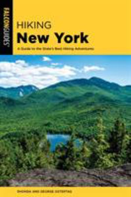 Cover image for Hiking New York : a guide to the state's best hiking adventures
