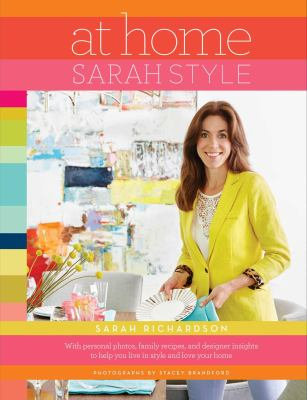 Cover image for At home : Sarah style