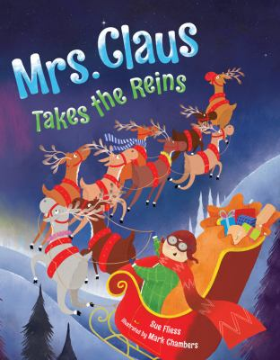 Cover image for Mrs. Claus takes the reins