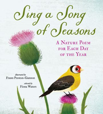 Cover image for Sing a song of seasons