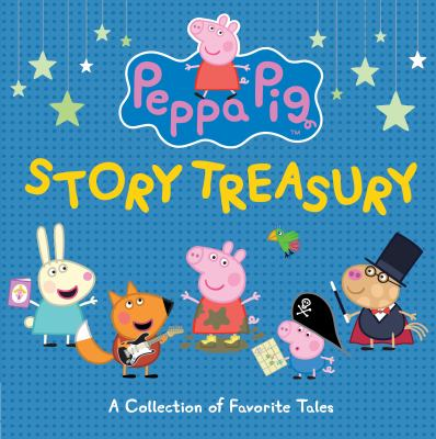 Cover image for Peppa Pig story treasury.