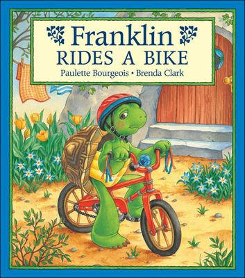 Cover image for Franklin rides a bike