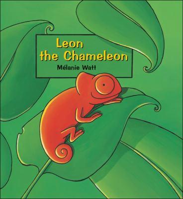 Cover image for Leon the chameleon