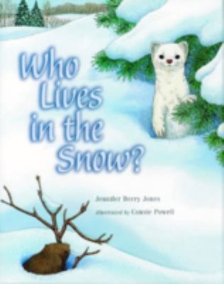 Cover image for Who lives in the snow?