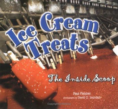 Cover image for Ice cream treats : the inside scoop