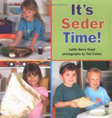 Cover image for It's seder time!