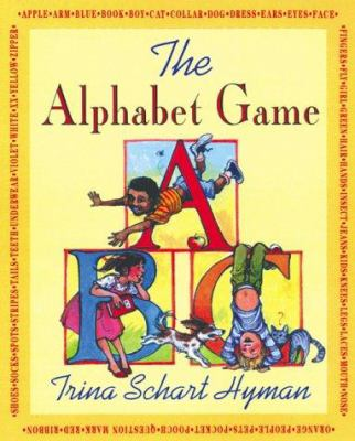 Cover image for The alphabet game