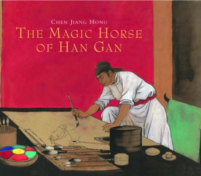 Cover image for The magic horse of Han Gan