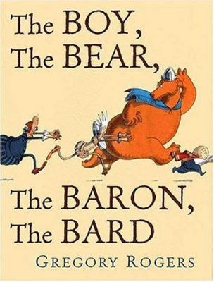 Cover image for The boy, the bear, the baron, the bard