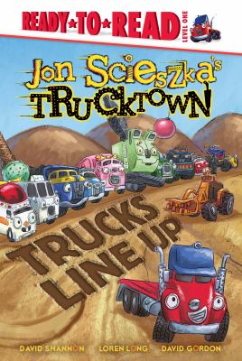 Cover image for Trucks line up